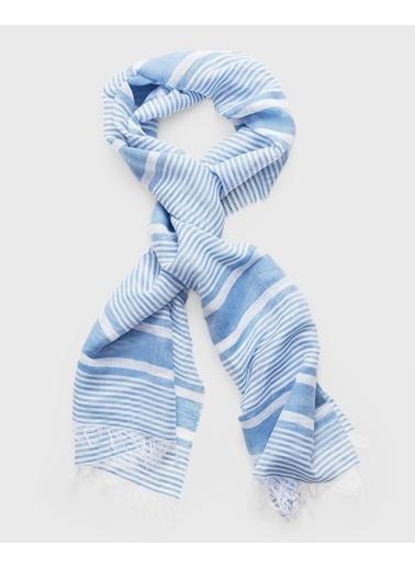 Gant Şal Mavi